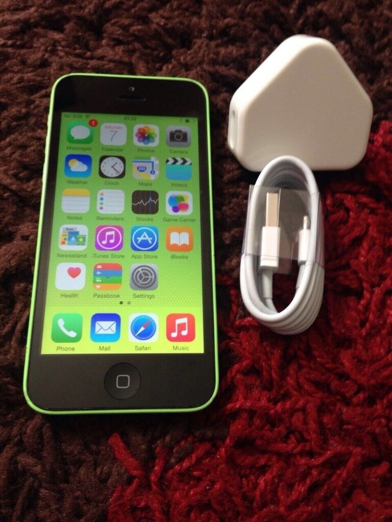 Apple Iphone 5c 8gb Green Unlocked In Barking London Gumtree