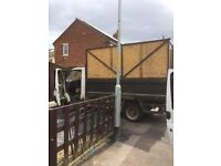 2003 transit tipper with high side cages