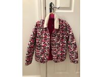 Beautiful pink hello kitty Barbour jacket. Size small will fit a girl about 6-7.