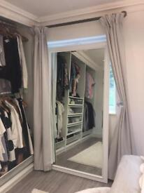 Beautiful Full Length Mirror in White