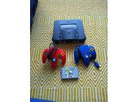 N64 with Matio Kart