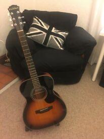 Freshman FOP10 Acoustic GUITAR (*RRP: £399, mint condition) + extras