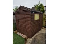 8 x 4 Timber shed for sale