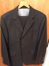 Designer Paul Costelloe 2 piece suit (elegant taupe colour)