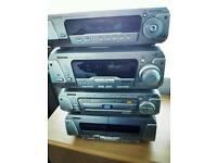 Technics DVD Cd radio cassettes hifi