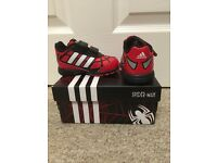 Adidas Spider-Man toddler trainers