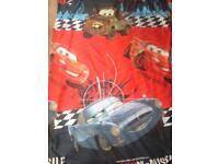 Disney Cars single duvet cover and pillow case