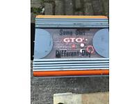 GTO 600 watts Amp and sub