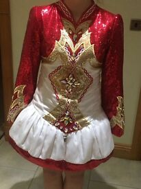 Irish dancing costume fir sale