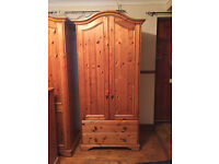 QUALITY PIECE, !Lovely solid pine wardrobe !