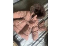 Baby girls 12-18 month Jasper conran coat