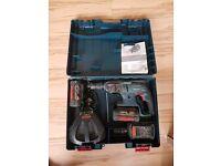 Bosch GBH 36 VF-LI Plus Cordless Drill with 3x 36v batteries