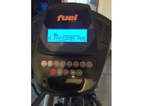 Fuel elliptical cross trainer, very good condition, hardly used