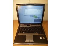 Dell Latitude D520 laptop + Power Supply + Dell Bag = READY TO USE