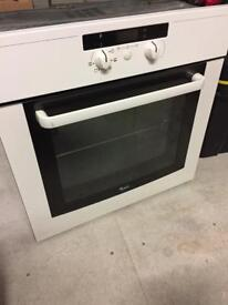 Whirlpool single oven and grill.