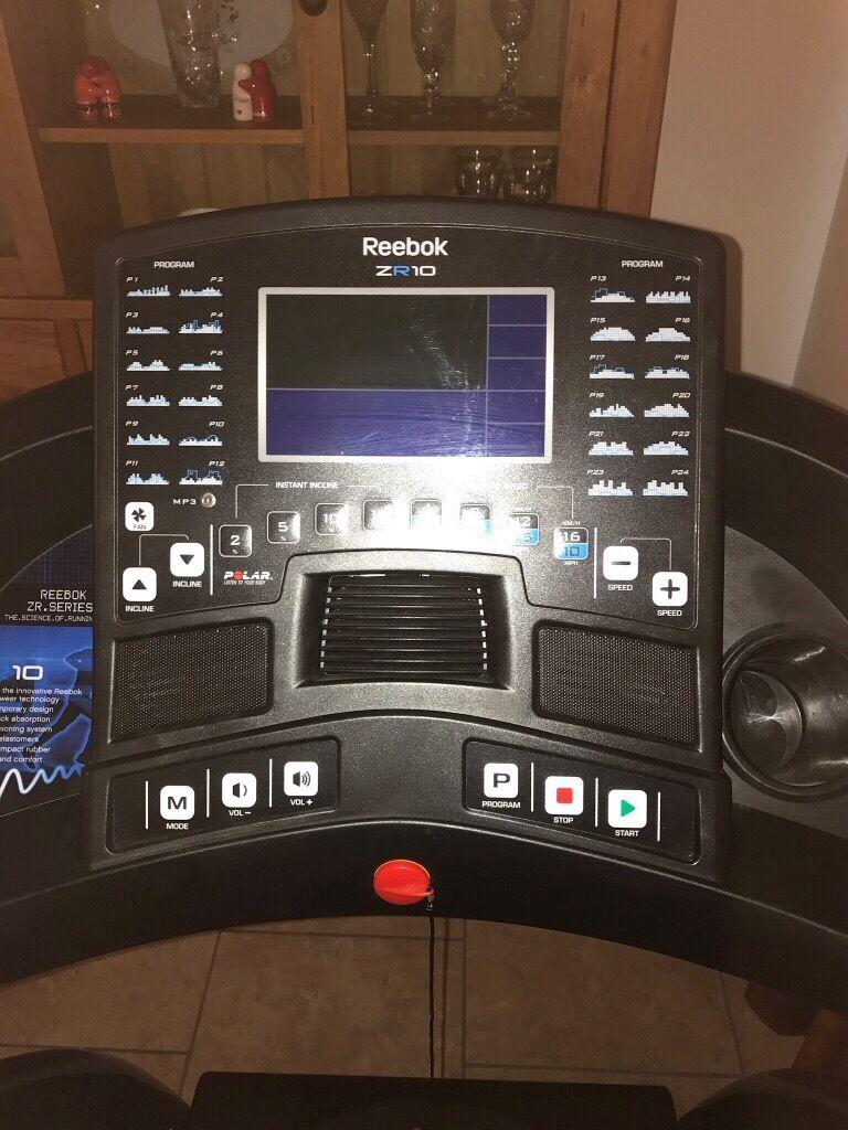 Reebok zr10 treadmill | in manor park, london | gumtree.