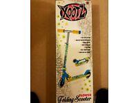 Xootz stunt folding scooter
