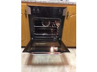 Electric hob and oven immaculate and working perfectly
