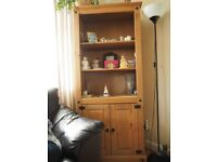 RIO SOLID WAXED PINE BOOKCASE