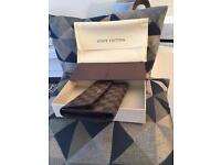Louis Vuitton Pre-Loved Authentic Damier Eben Porte Tresor Long Int'l Wallet/Purse N61215