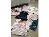 Baby girls newborn clothes