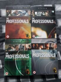 The Professionals Complete Series 1-4 New Sealed. Rare