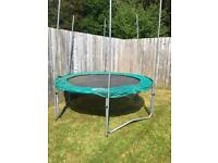 10ft trampoline good condition!! Only £80!