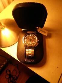 Mens Watch - Pulsar Chronograph