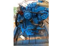 Mermaid boat engine.