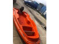 Rigiflex New Matic 360 boat inc Suzuki outboard