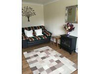 Clean and comfortable semi- furnished one bedroom flat within easy reach of the city.