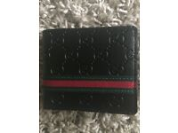 Brand new real leather gucci style wallet