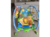 """""""Tiny Love"""" baby gymini/baby bouncer - as new"""