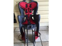 Bellelli rear child bike seat carrier for toddlers/kids up to 22kg