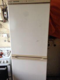 White fridge freezer 50/50......Cheap Free Delivery