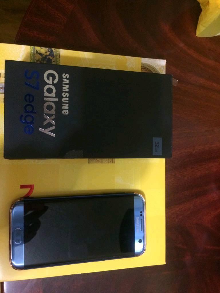 Samsung galaxy s7 edge coral blue unlocked