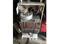 Ideal classic boiler used and working, selling for parts of full boiler along with flue/backplate.