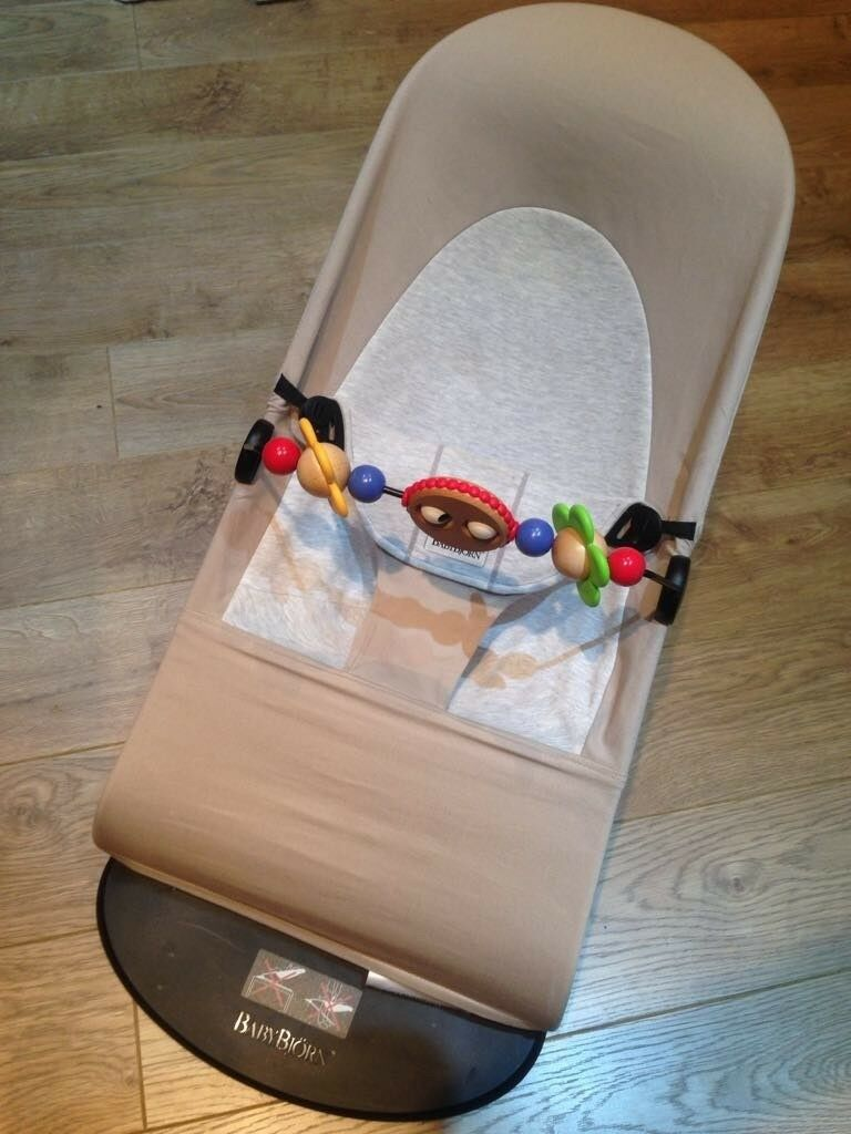 7a3fd56ee17 Babybjorn balance bouncer with wooden toy bar