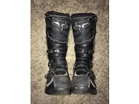 Fox racing comp 5 motocross boots SIZE UK 9 SOLD! SOLD!