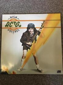 AC/DC High Voltage - First Press 1976 VINYL