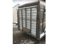 Ivor Williams cattle trailer