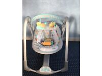 Excellent condition Taggies baby swing !!! Bargain !!!