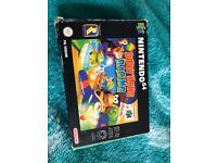 Nintendo 64 (n64) diddy Kong racing complete