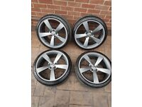 """19"""" alloys and tyres 5/112"""