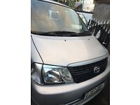 Toyota hiace Silver van for sale