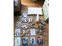 Nintendo Wii incl Wii Fit & 7 Games & MORE