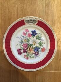 Three collectors plates