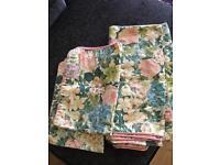 M&S floral double duvet set