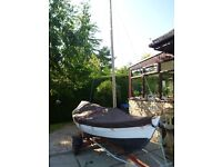 Traditional design 15ft Dinghy as CHRISTMAS PRESENT
