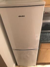 BUSH Fridge Freezer 150cmx50cmx55.5cm in full working order